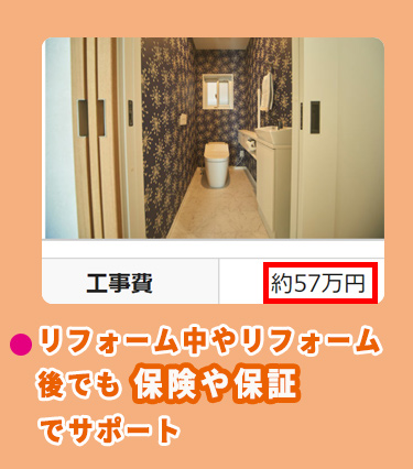 パナソニックのトイレのリフォーム費用相場