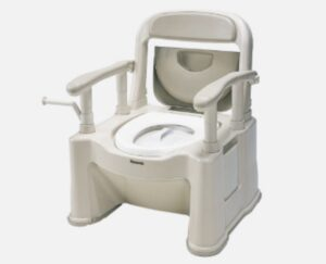 パナソニック ポータブルトイレ 背もたれ型SP