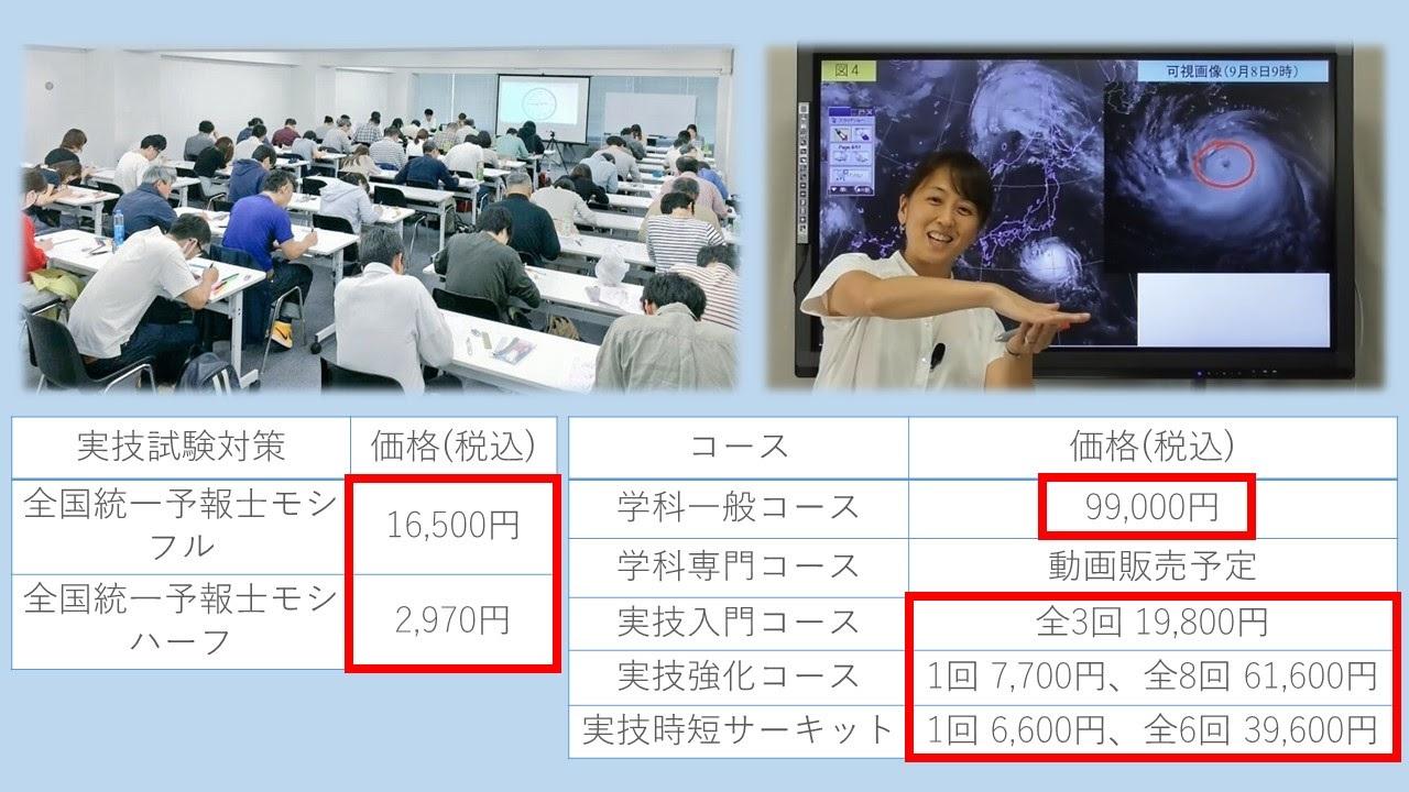 Team SABOTEN気象予報士講座の料金